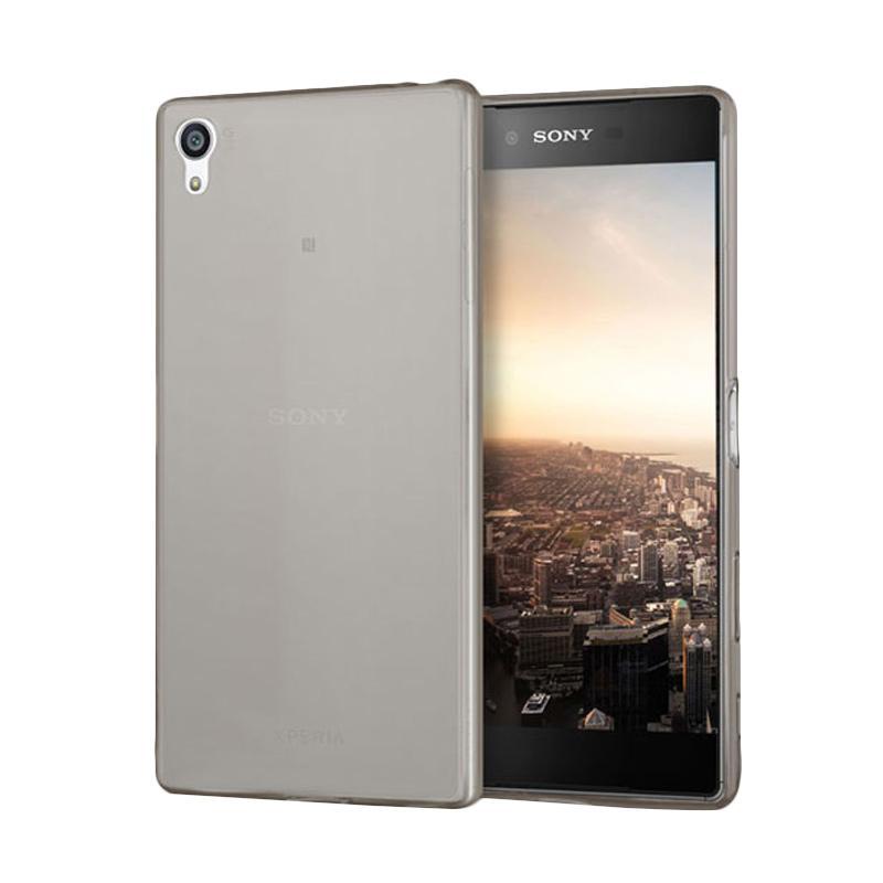 OEM Ultrathin Jelly Softcase Casing for Sony Xperia Z5 Dual - Grey
