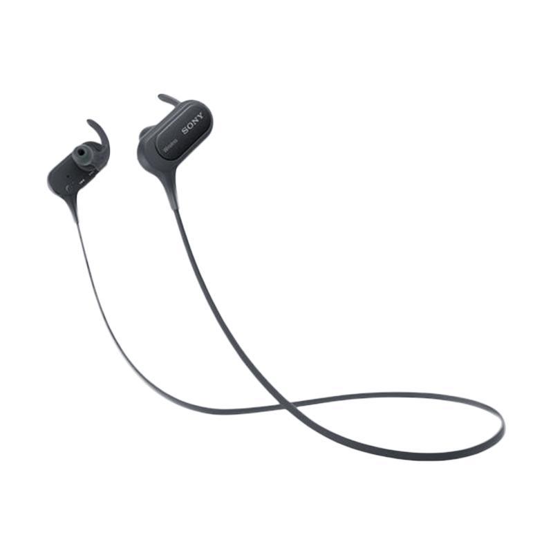 harga SONY MDR-XB50BSBZE Extrabass Bluetooth Sporty Earphone - Black Blibli.com