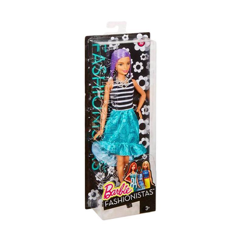 harga Barbie Fashionistas #18 Va Va Violet Original Doll (30cm) Original Item Blibli.com