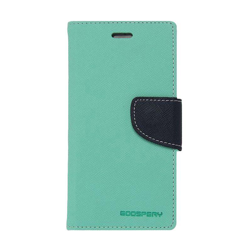 Mercury Fancy Diary Casing for Xiaomi Mi4 - Hijau Tua Biru laut