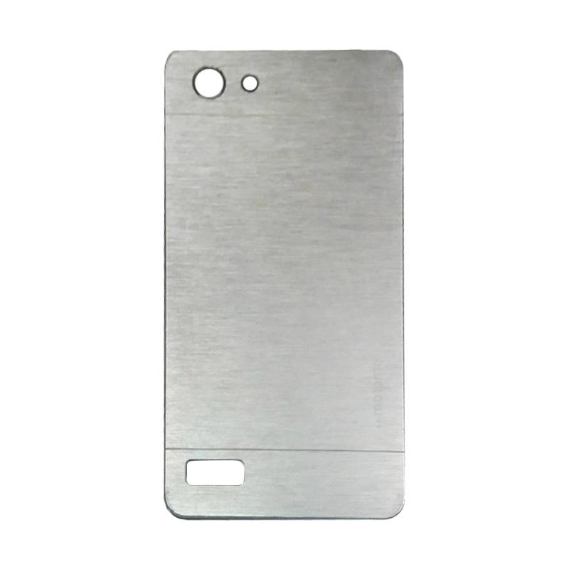 Motomo Metal Hardcase Backcase Casing for Oppo Neo 7 or A33T - Silver