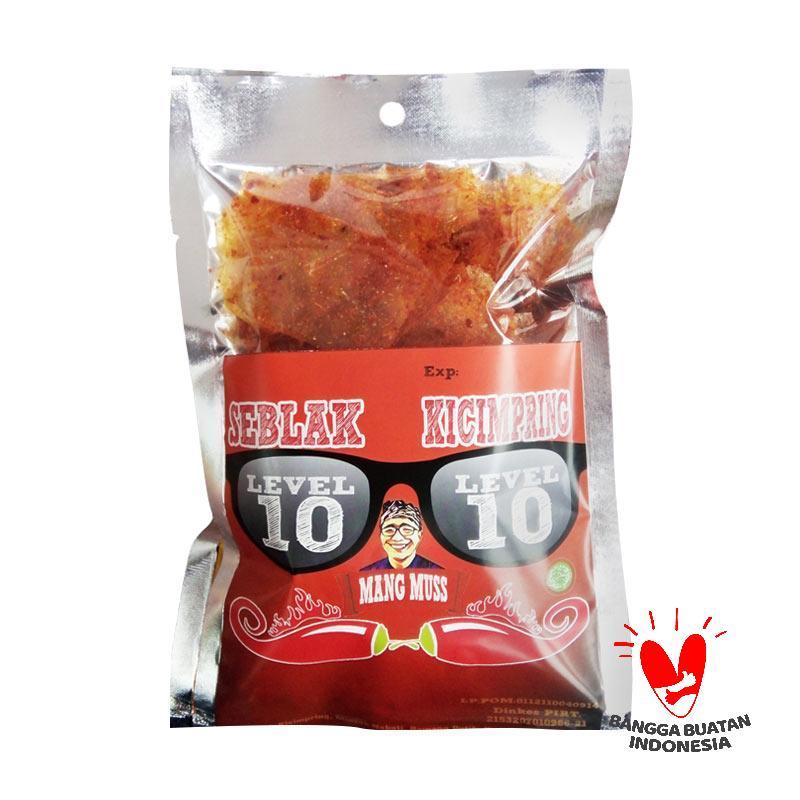 Seblak Mang Muss Seblak Kicimpring Makanan Kering [Level 10] - 6 Pcs