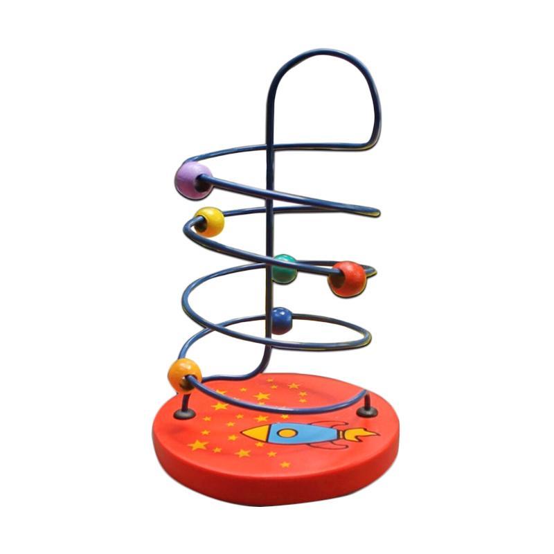 Istana Bintang Kayu Wire Game Apollo Besar Mainan Edukatif