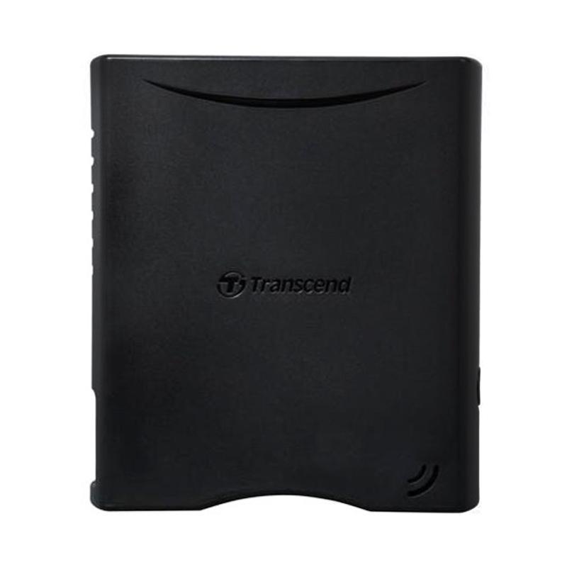 Transcend Storejet 35T3 Hard Disk Eksternal - Hitam [4 TB/3.5 Inch/USB 3.0]