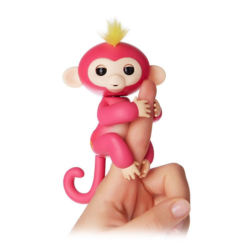 Wowwee Fingerlings Interactive Smart Baby Monkey Pet Toys Mainan Anak - Bella
