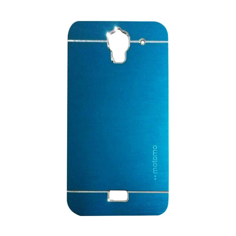 Motomo Metal Hardcase Backcase Casing for Huawei Y3 Batik - Sky Blue