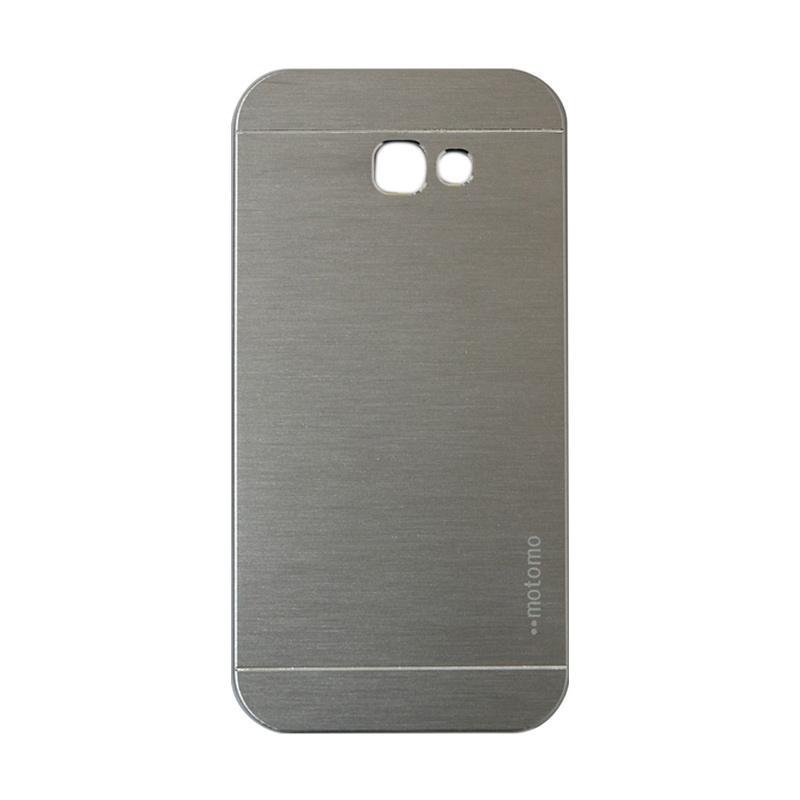 Motomo Metal Hardcase Casing for Samsung Galaxy A720 or A7 2017 - Silver