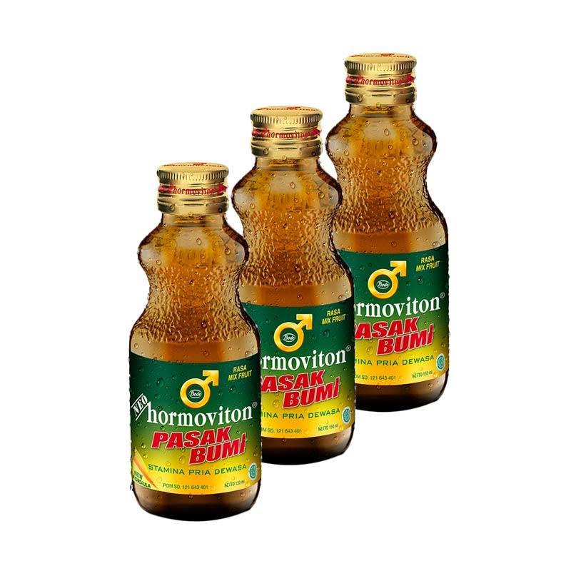 Neo Hormoviton Pasak Bumi Liquid Mix Fruit Minuman [3 Pcs/ 150 mL]