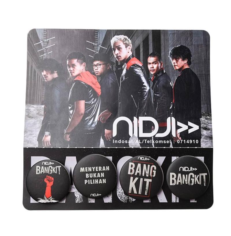 Musica Studios Nidji Paket Pin Bangkit Merchandise