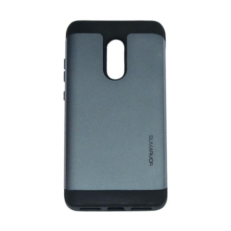 Spigen Slim Armor Hardcase Casing for Xiaomi Redmi Note 4 - Dark Blue