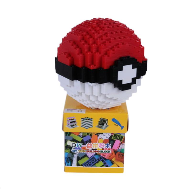 Chloe Babyshop Pokemon Ball LEGO Mainan Anak - Multicolour
