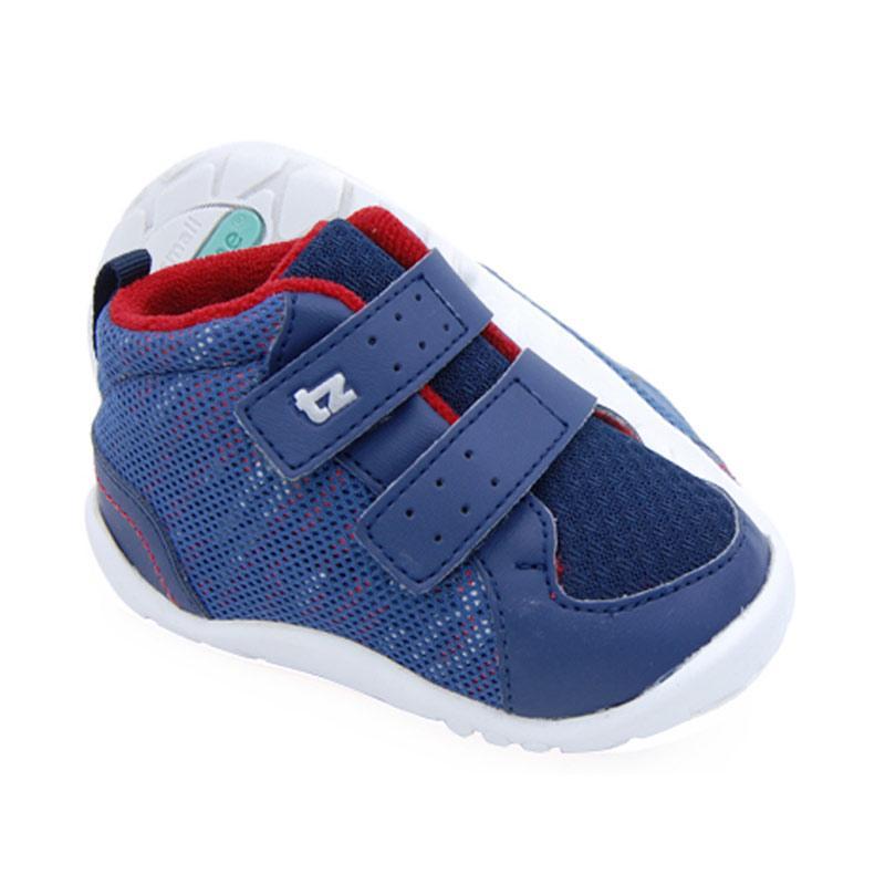 Toezone Kids Randall Net Fs Sepatu Anak Laki-laki - Navy Red