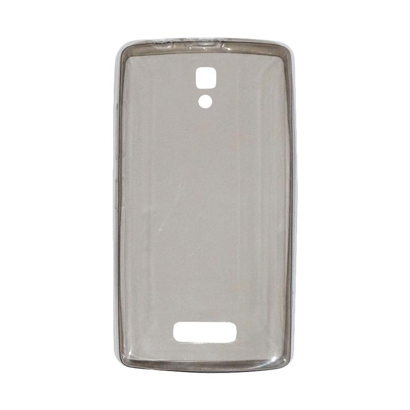 VR UltraThin Silicone Jellycase Softcase Casing for Lenovo A2010 - Black