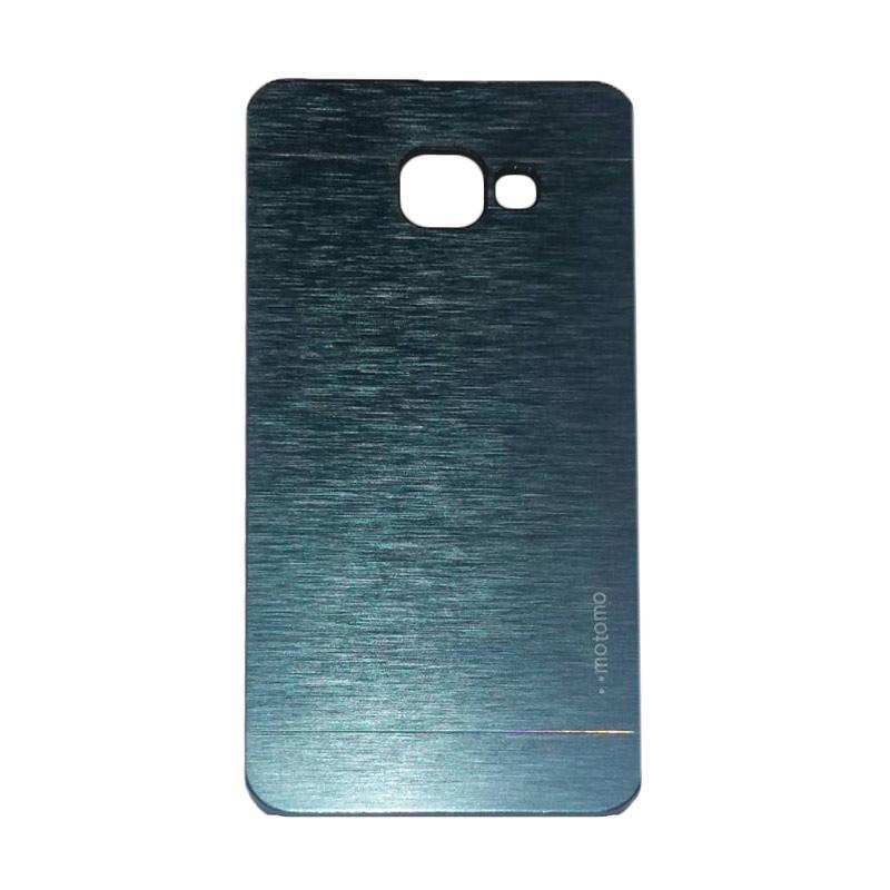Motomo Metal Hardcase Casing for Samsung Galaxy A510 or A5 2016 - Dark Blue