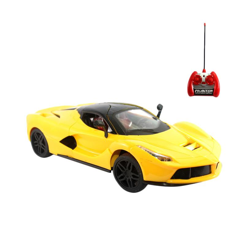 OICE Ferrari Supercar Extreme Edition Mainan Remote Control - Yellow