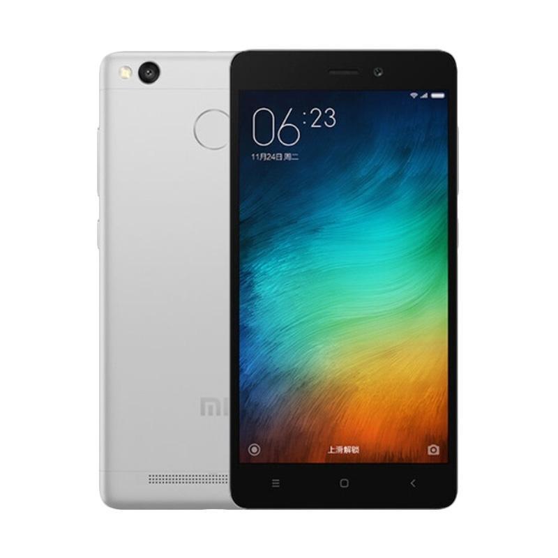Xiaomi Redmi 3S Smartphone - Grey [32GB/ 3GB/ Garansi Resmi TAM]