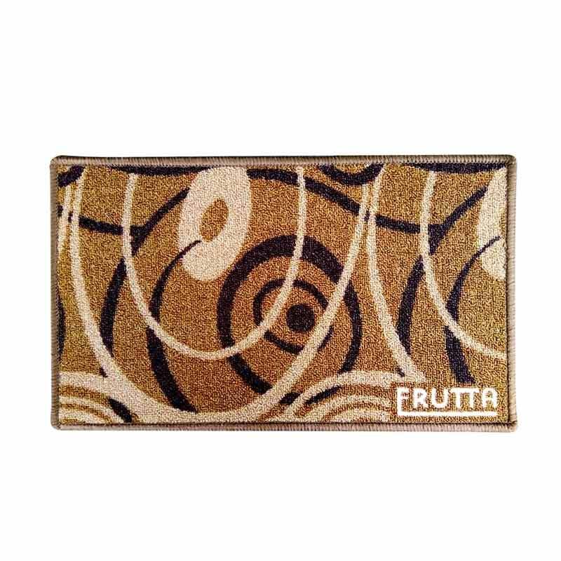 Classic Carpets Rotation Keset Anti Slip - Brown [33 x 57 cm]