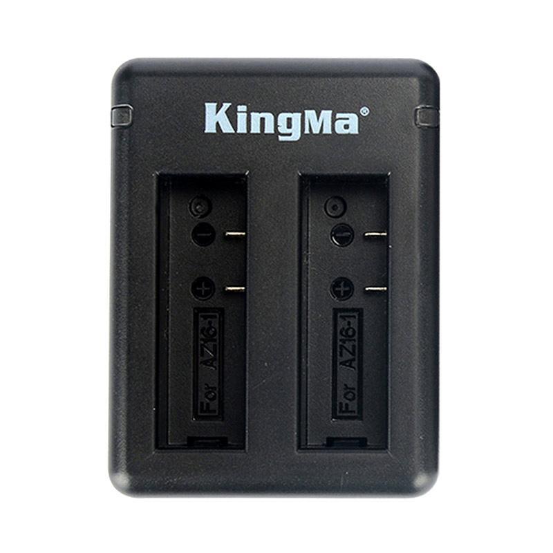 harga KingMa Dual Double Desktop Charger for Xiaomi Yi 4K / 4K PLUS / LITE Blibli.com