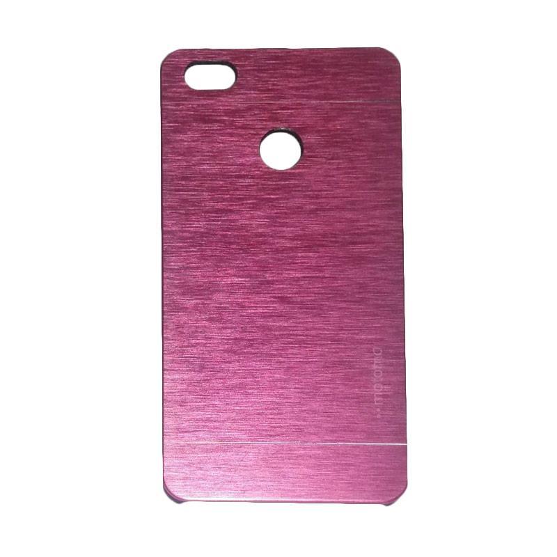 Motomo Metal Hardcase Backcase Casing for Xiaomi Mi 4s or Mi4s - Pink