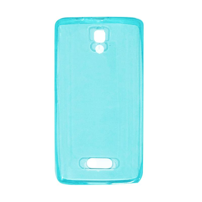 VR UltraThin Silicone Jellycase Softcase Casing for Lenovo A2010 - Blue
