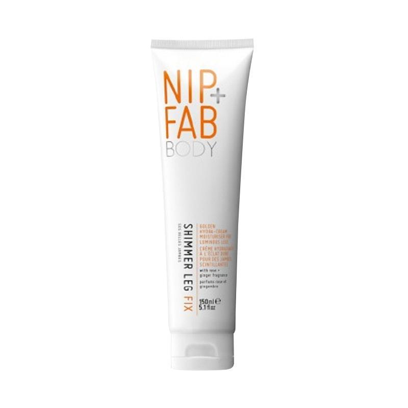Nip + Fab Shimmer Leg Fix Moisturiser Glow Cream Rose Fragrance [150 mL]