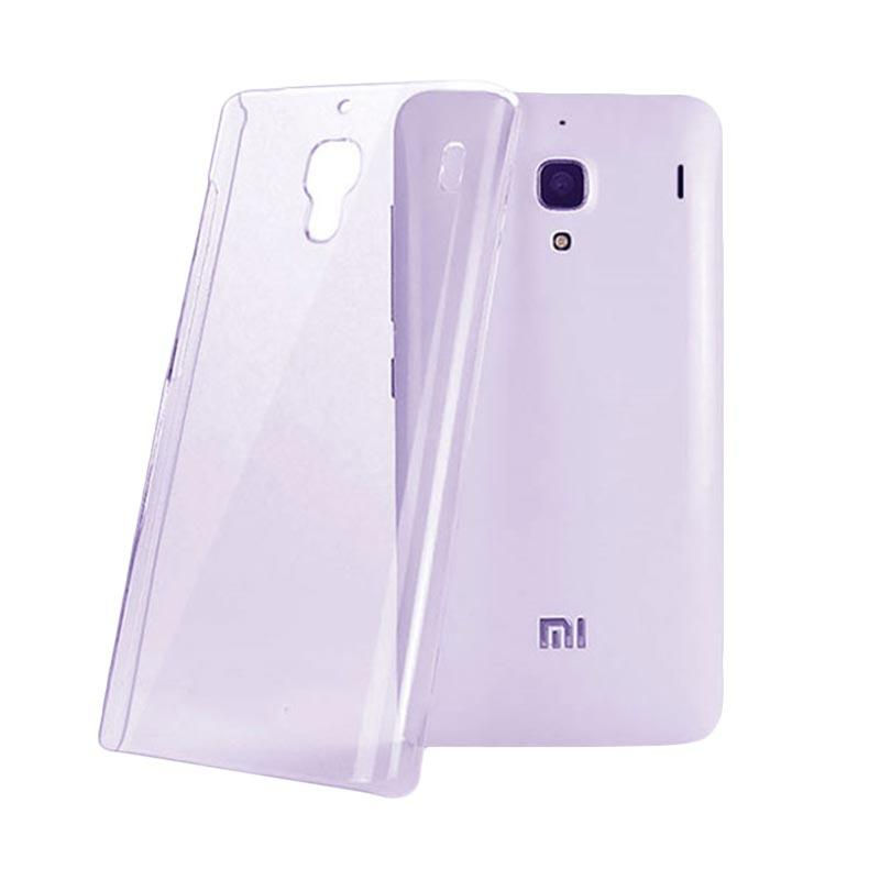OEM Ultrathin Jelly Softcase Casing for Xiaomi Redmi Note - Purple