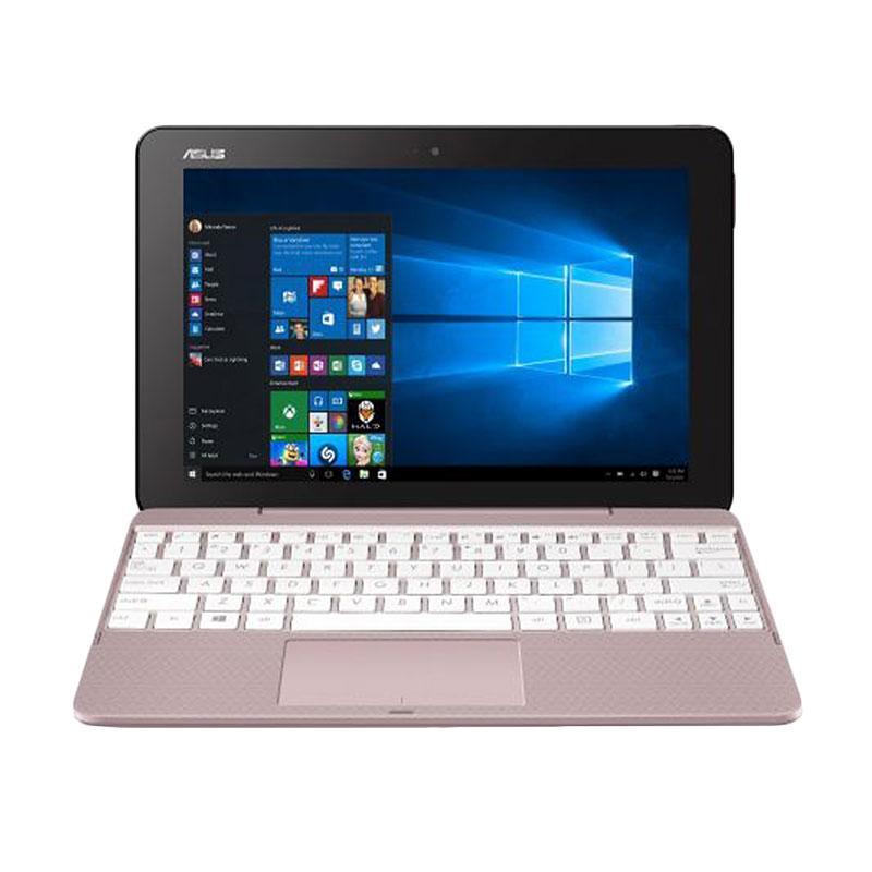 Asus T101HA-GR012T Notebook - Pink [Intel Atom x5-Z8350/2GB RAM/128GB eMMC/10.1 Inch/Win10]