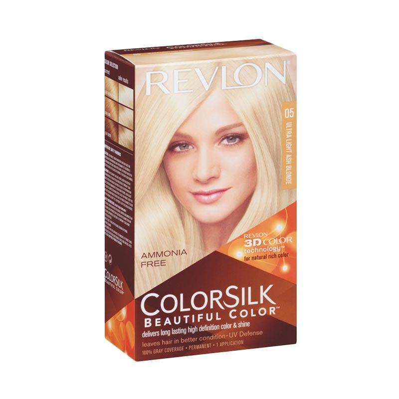 Jual Revlon Colorsilk Beautiful 05 Cat Rambut - Ultra Light Ash Blonde Online - Harga & Kualitas Terjamin | Blibli.com