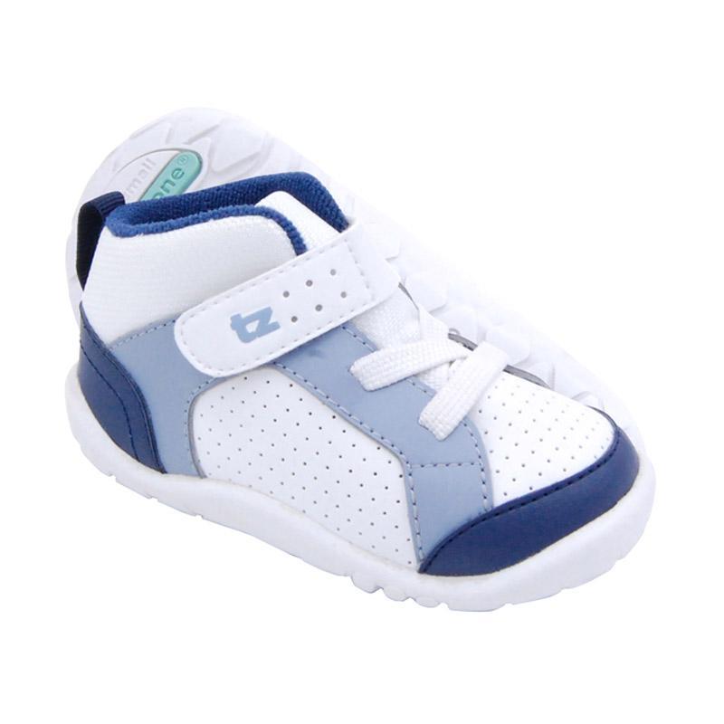 ToeZone Kids Orville Fs Sepatu Anak Laki-laki - White Ocean