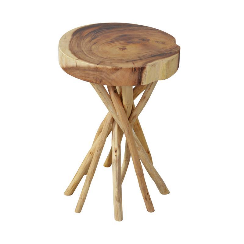 De Erniest Liberte Round Side Table Small Meja Sudut - Natural