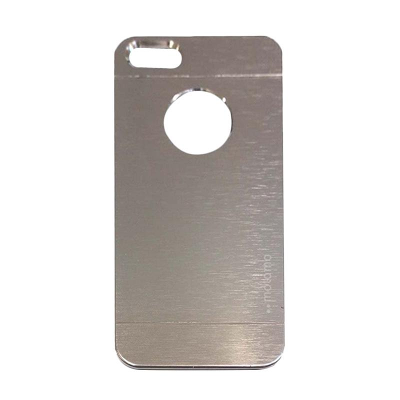 Motomo Metal Hardcase Backcase Casing for Apple iPhone4/4G/4S - Silver
