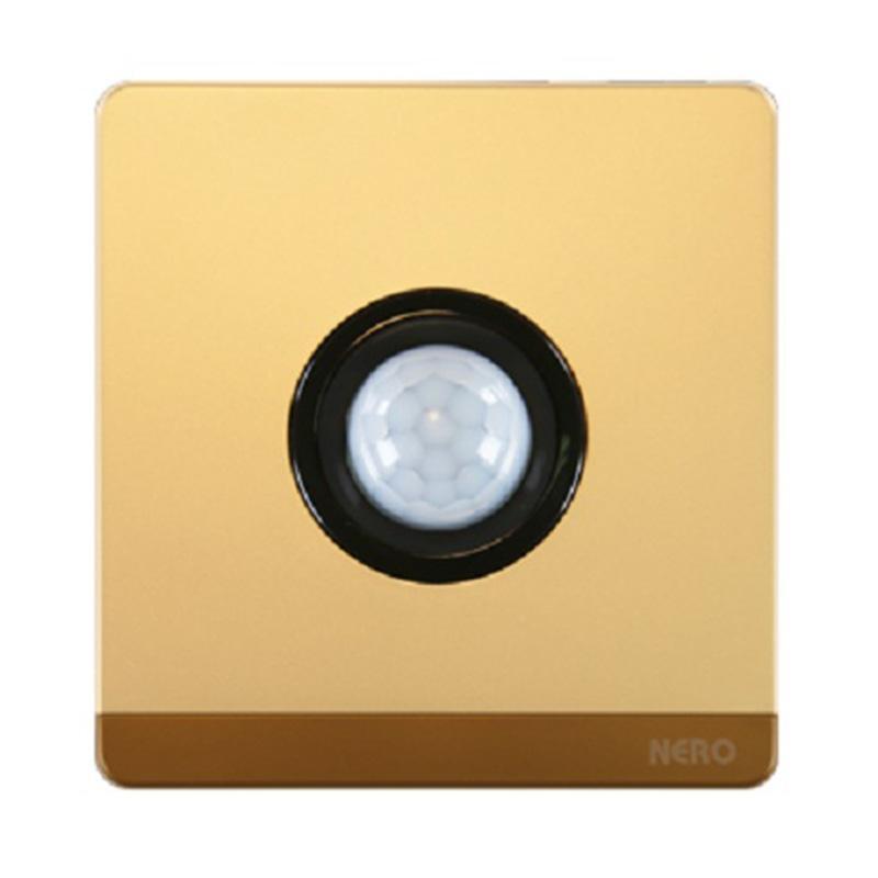 harga Nero Decora Q7F5-G Saklar Listrik - Gold [Passive Infrared Light Dimmer] Blibli.com