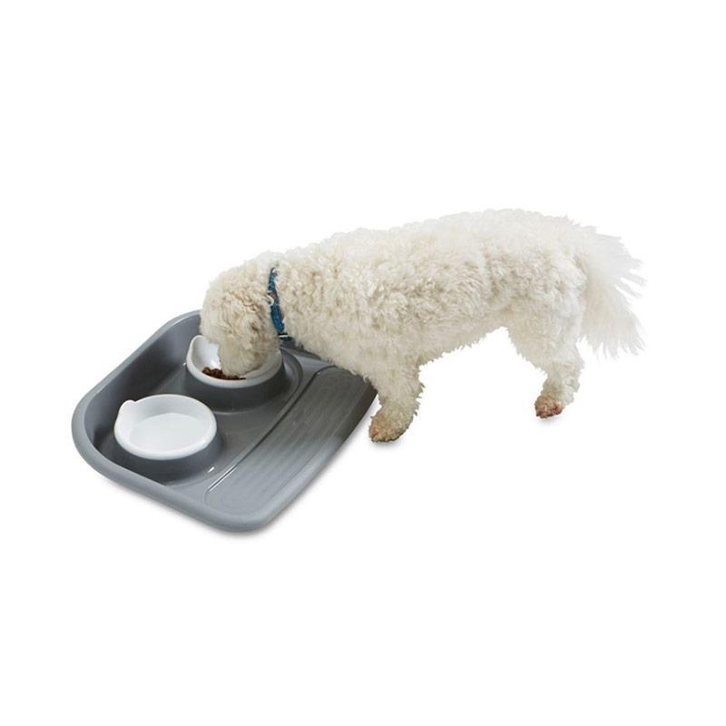 Savic Buttler Tray Tempat Makan Kucing dan Anjing