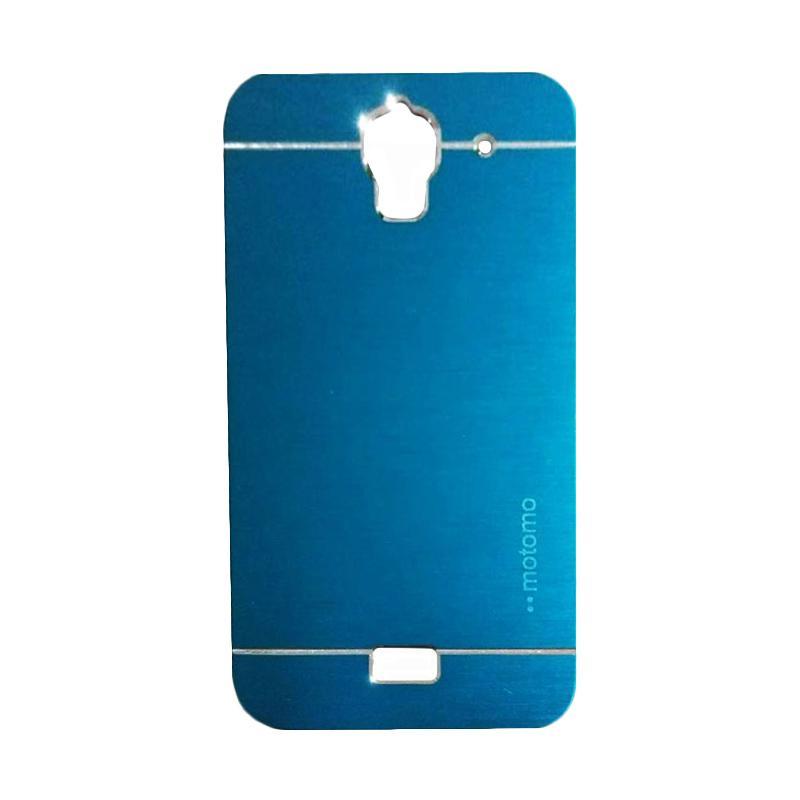 Motomo Metal Backcase Hardcase Casing for Huawei Y3/ Y3C/ Y360 - Sky Blue
