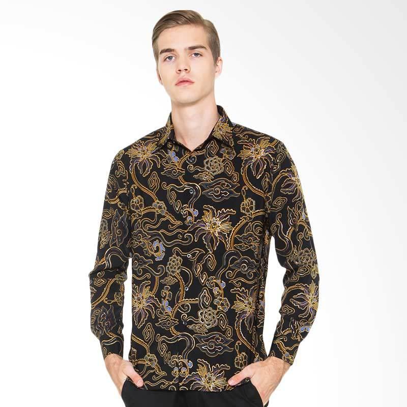 Jual Parama Batik Lengan Panjang Slim Fit Sable Kemeja Batik Pria