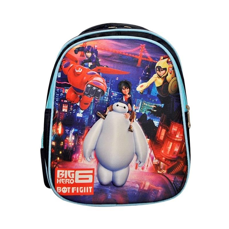 harga Autorace Backpack Big Hero 6 Karakter 3D SBK B1 BMX Tas Sekolah Anak - Blue Blibli.com