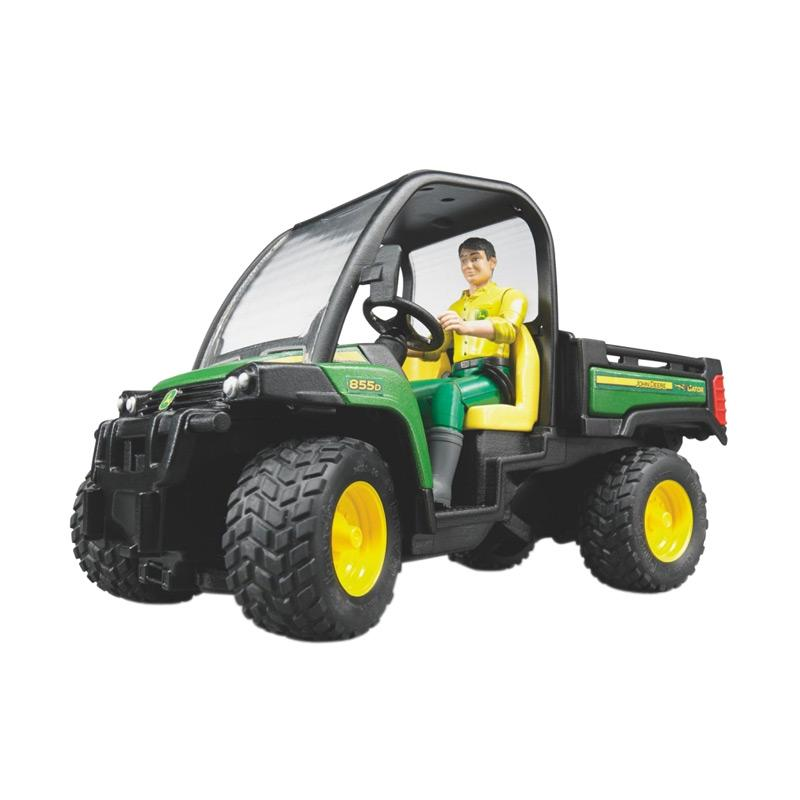 John Deere Gator >> Bruder Toys John Deere Gator Xuv 855d With Driver Diecast