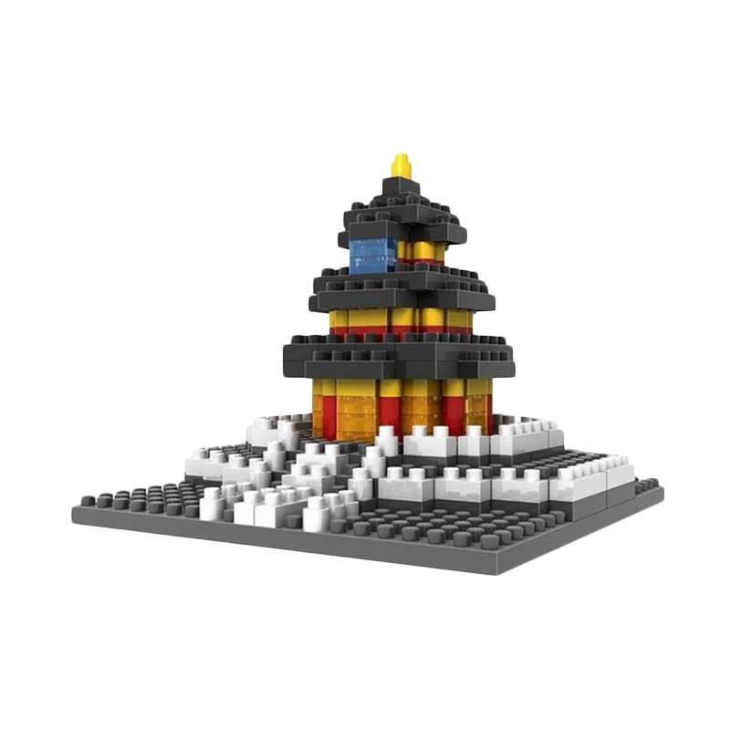 Loz Diamond Block 9364 Temple of Heaven Mainan Blok & Puzzle