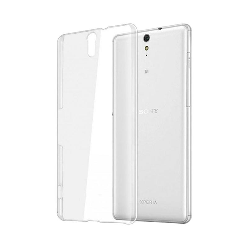 OEM Ultrathin Jelly Softcase Casing for Sony Xperia C5 Ultra - Clear