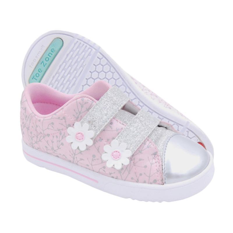 Toezone Kids Audra Ch Sepatu Anak Perempuan - Pink Silver
