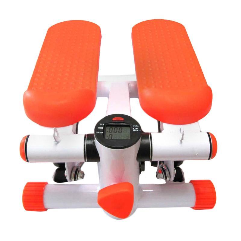 harga Celebrity Fitness Mini Stepper Air Climber Alat Fitness - Orange Blibli.com
