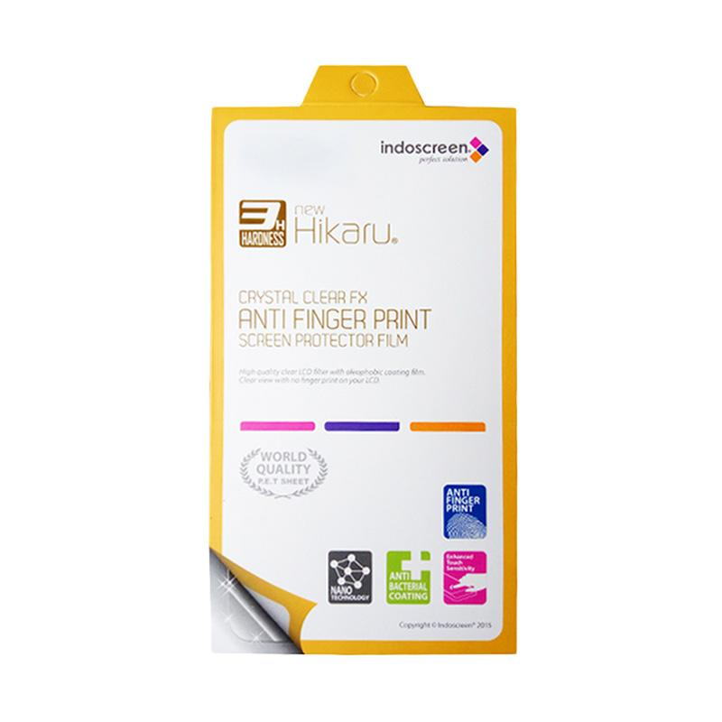 Hikaru Anti Finger Print Screen Protector for Andromax L - Clear