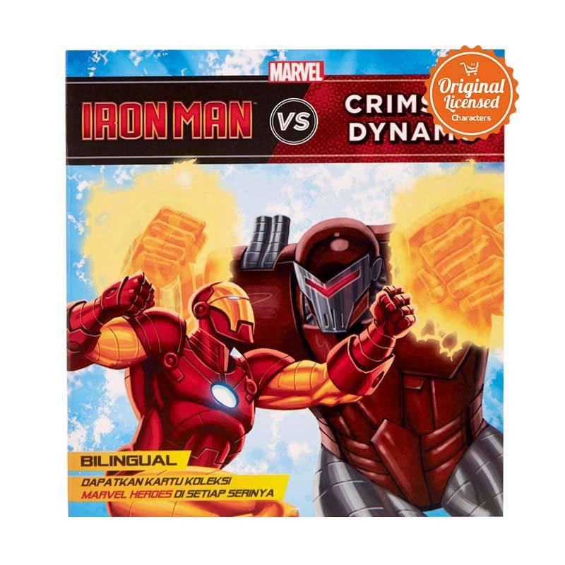 harga Marvel Story Book Iron Man vs Crimson Dynamo Buku Cerita Anak Blibli.com