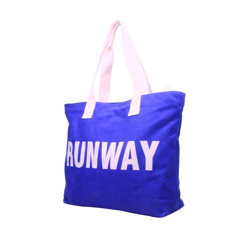 Tote Bag Runaway Moshimoshi BTO.95-Tas Unisex-Royal Blue