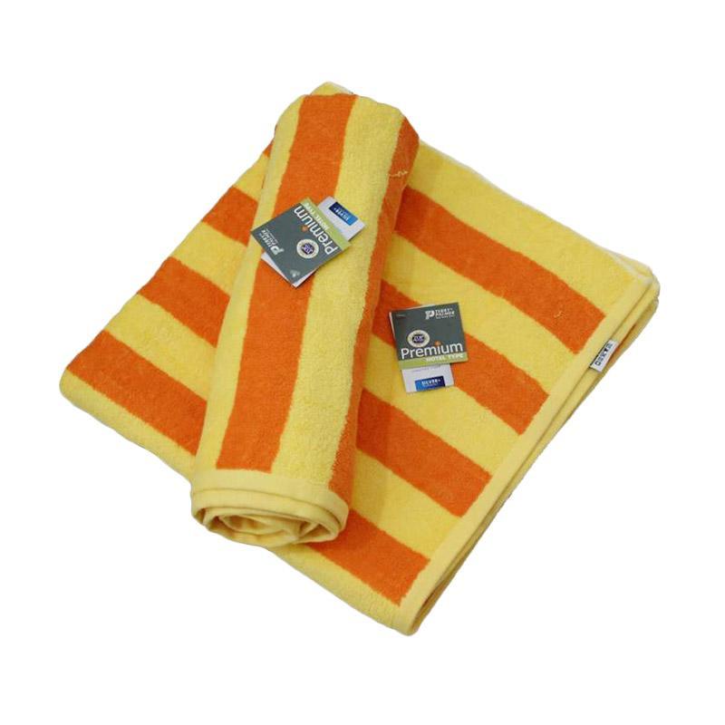 Terry Palmer Premium Handuk Pantai - Kuning Orange [85 x 160 cm]