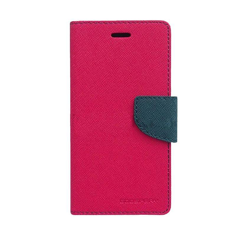 Mercury Fancy Diary Casing for Xiaomi Redmi 2 - Magenta Biru Laut