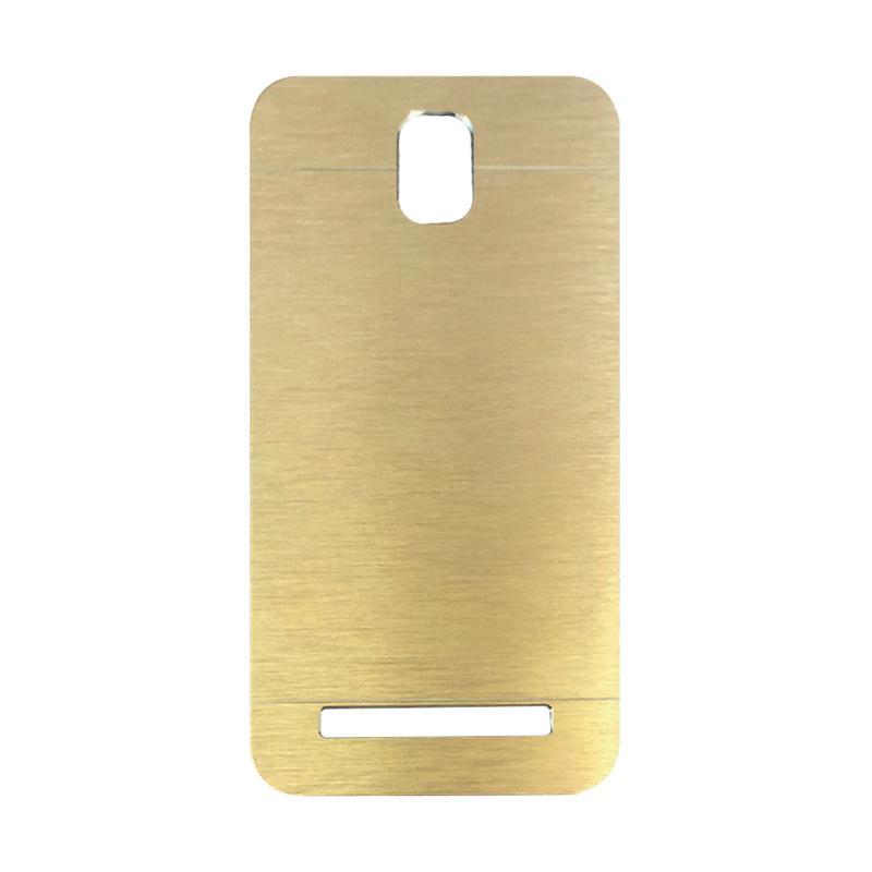 Motomo Metal Backcase Hardcase Casing for Asus Zenfone C ZC451CG - Gold