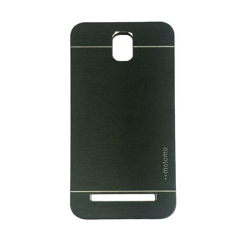 Motomo Metal Hardcase Backcase Casing for Asus Zenfone C ZC451CG - Black