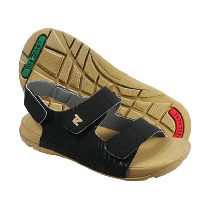 Toezone Kids Bali Sepatu Sandal Anak Laki-Laki - Ch Black Dark Tan