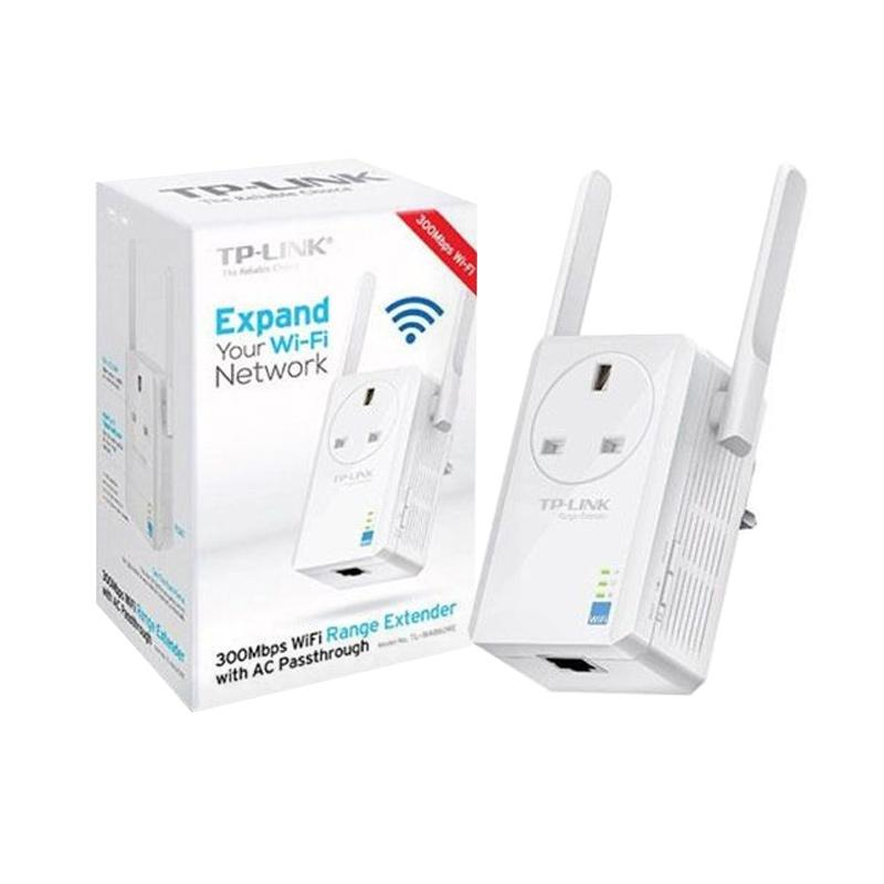 TP-LINK TL-WA860RE WiFi Range Extender with AC Passthrough [300 Mbps]